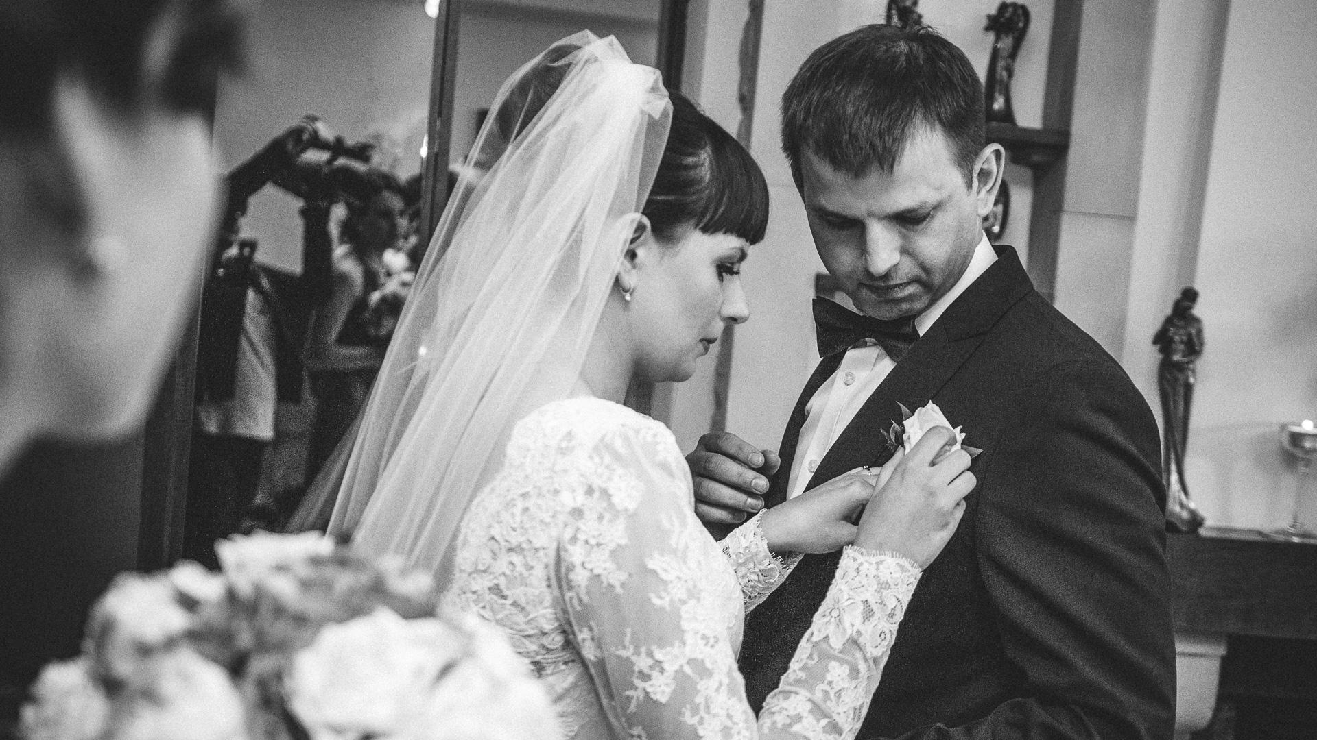 Reportaż ślubny – błogosławieństwo